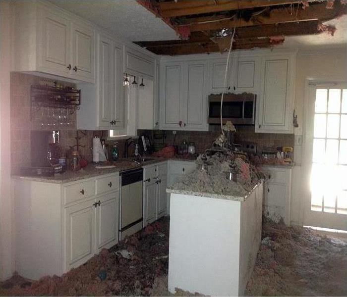 Fire Damage – Sarasota Kitchen Before
