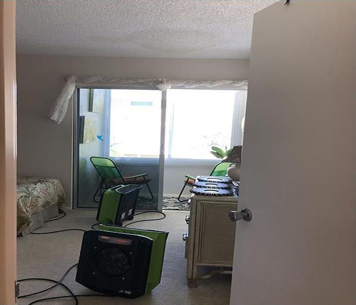 Water Damage Restoration In Siesta Key Before