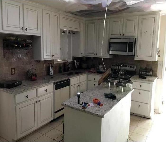 Fire Damage – Sarasota Kitchen After