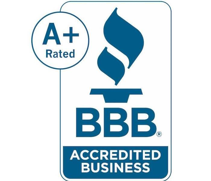 BBB Accredited Logo with A+ Rated in a circle