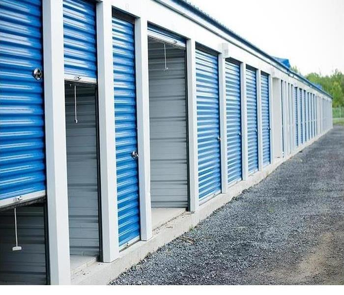 Outside view of storage facility