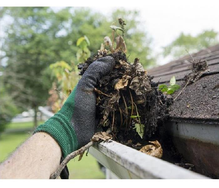 Water Damage Clogged Gutters Can Cause Water Damage in Sarasota
