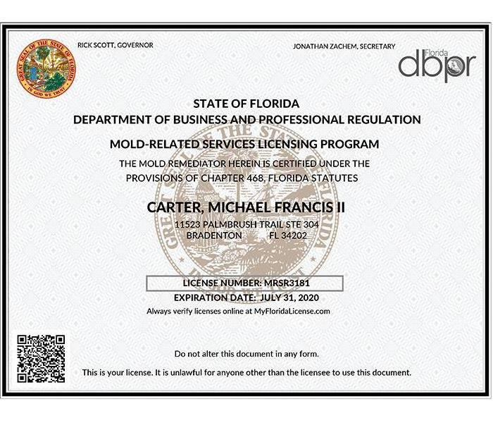 Mold Remediation SERVPRO of South Sarasota and Compete Mold Damage Solutions